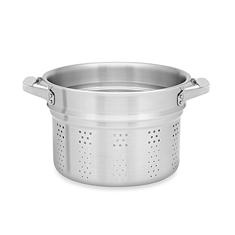 Zwilling J.A. Henckels TruClad Stainless Steel Pasta Insert for 8-Quart Stockpot
