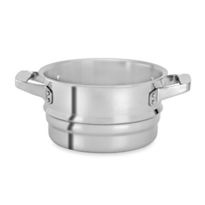 Zwilling J.A. Henckels TruClad Stainless Steel Steamer Insert for 3-Quart and 4-Quart Saucepans