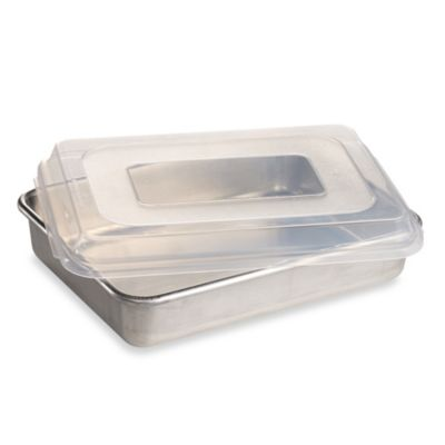 9-Inch x 13-Inch Cake Pan with Lid