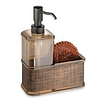 Interdesign® Bronze Soap Dispenser Caddy