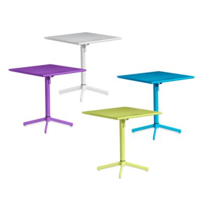 Big Wave Folding Square Table