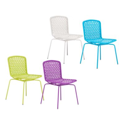 Zuo® Outdoor Silvermine 4-Piece Bay Chair Set