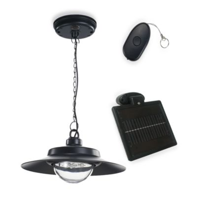 Hanging Solar Shed Light in 4-LEDs