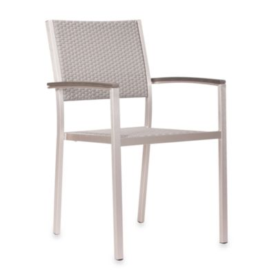ZUO Outdoor Metropolitan Arm Chair