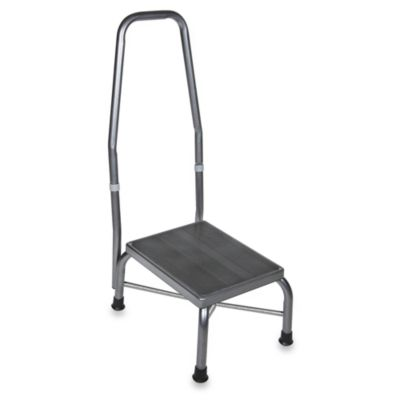 Drive Medical Footstool With Handrail