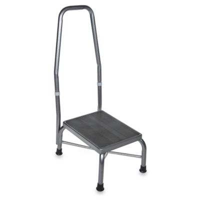 Drive Medical Bariatric Footstool With Handrail