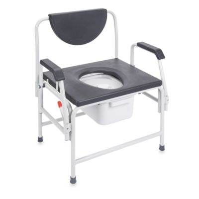 Drive Medical Large Bariatric Drop Arm Commode
