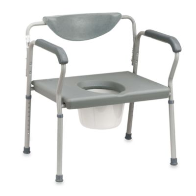 Drive Medical Steel Portable Commode