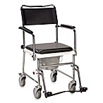 Drive Medical Upholstered Wheeled Commode