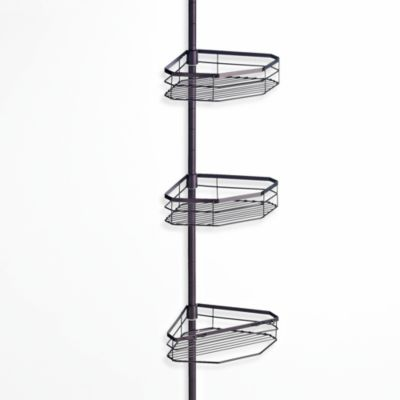 Three-Tier Bath Caddy Pole in Oil-Rubbed Bronze