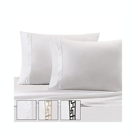 Natori Ming Fretwork Fitted Sheet