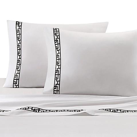 Buy Natori Ming Fretwork Flat Sheet From Bed Bath Amp Beyond