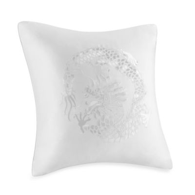 Natori Ming Fretwork European Toss Pillow