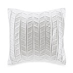 Natori Ming Fretwork Origami Square Toss Pillow