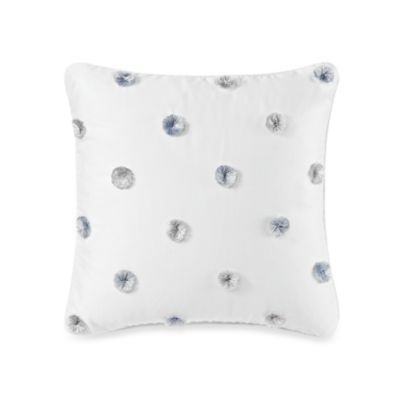 Royal Heritage Home® Pavia Pom Pom Square Toss Pillow