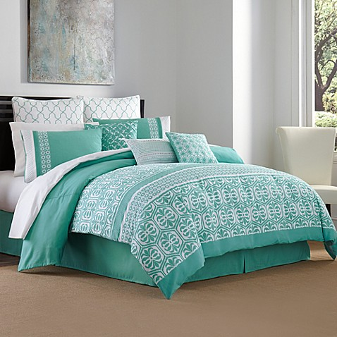 Maya 4-Piece Queen Comforter Set