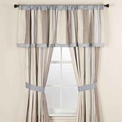 Freeport Stripe Window Valance