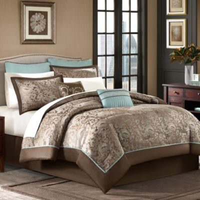 Brystol 12-Piece Full Comforter Set