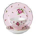 Royal Albert 3-Piece Set in Pink