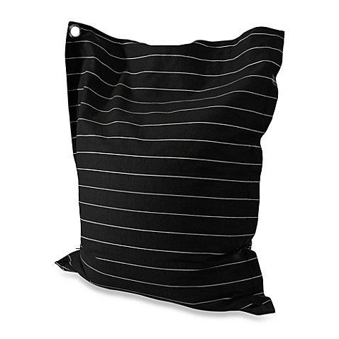 Powell Anywhere Lounger in Black/White Stripes