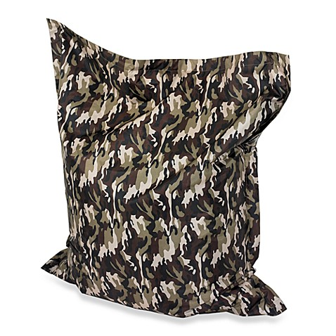 Powell Anywhere Bean Bag Chair in Camo