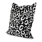 Powell® Anywhere Lounger in Black/White C Pattern