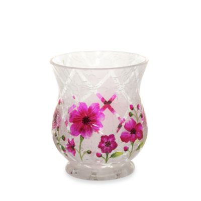 Yankee Candle® Honey Blossom Crackle Votive Holder/Hurricane