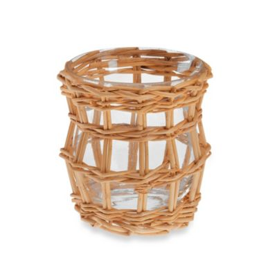 Yankee Candle® Sweet Summertime Wicker Votive Holder