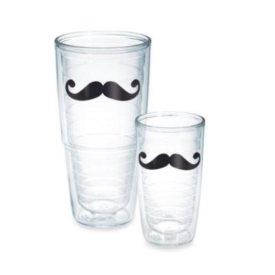 Mustache Connoisseur 24-Ounce Tumbler