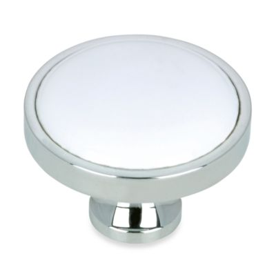 Richelieu Classic Chrome Knob Hardware