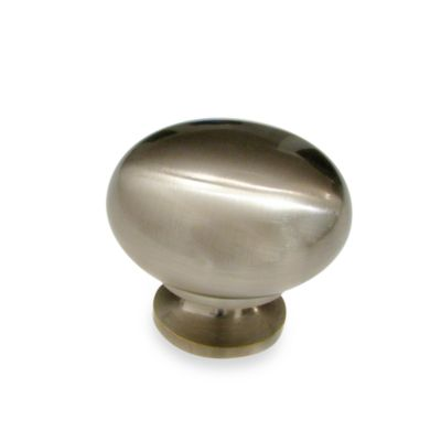 Brushed Nickel Classic Knob