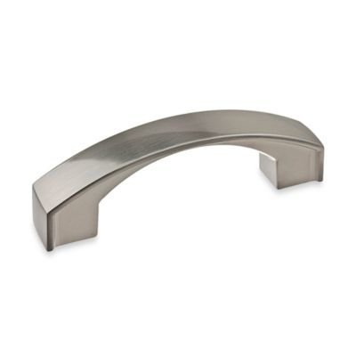 Richelieu 3-Inch Satin Nickel Flat Arch Pull