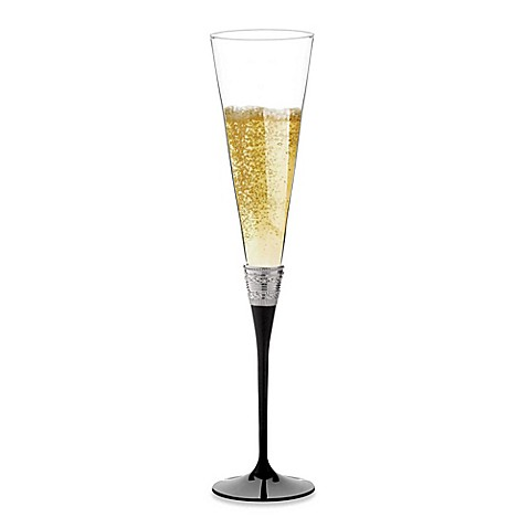 Vera Wang Wedgwood® with Love Noir Toasting Flutes