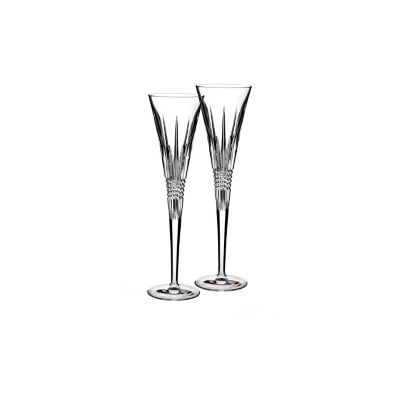 Waterford® Lismore Diamond Toasting Flutes (Set of 2)