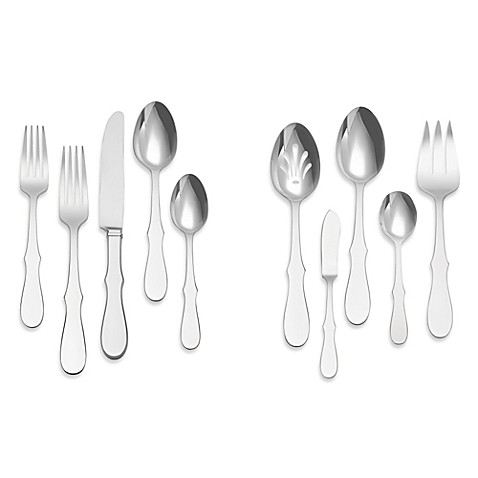 Vera Wang Wedgwood® Silhouette 45-Piece Flatware Set