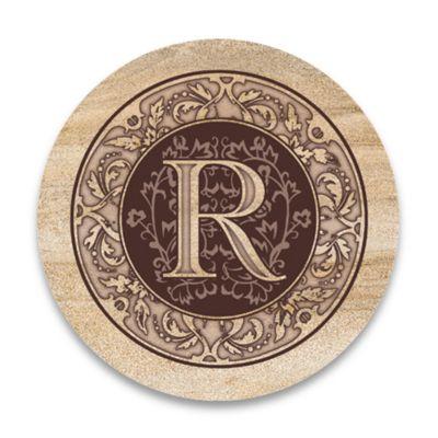"Monogram Letter ""R"" Coasters (Set of 4)"