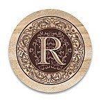 Monogram Letter  R  Coasters (Set of 4)