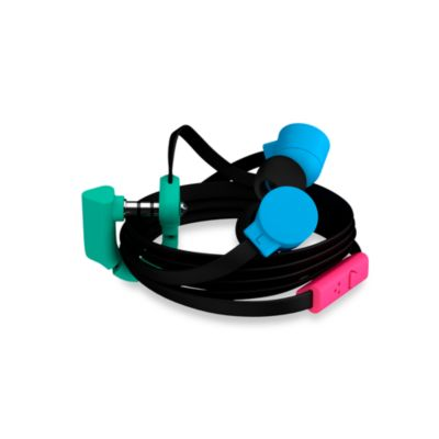 Coloud The Pop Headphones in Black/Cyan