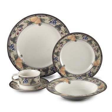 Garden Harvest 5-Piece Place Setting