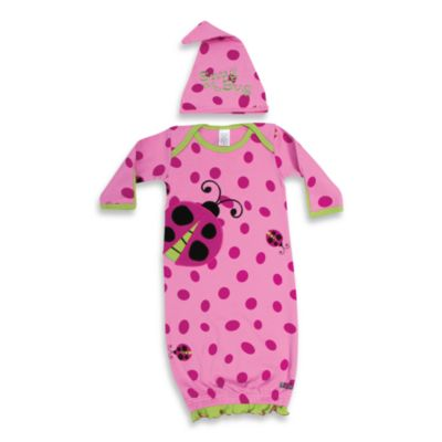"Sozo® ""Snug as a Bug"" Gown and Cap Set"