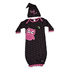 Sozo® Night Owl Gown and Cap Set
