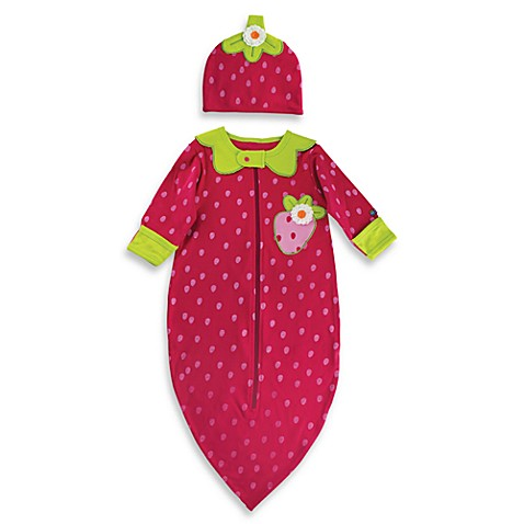 Sozo® Strawberry Bunting and Cap Set