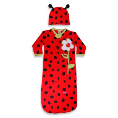 Sozo® Ladybug Bunting and Cap Set