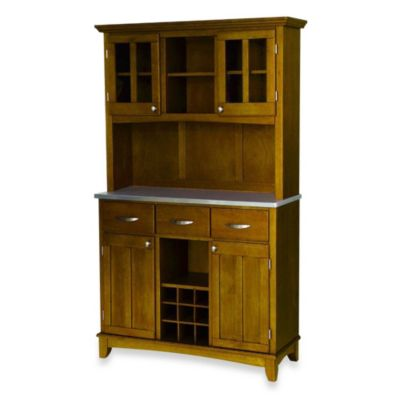 Oak Top Buffet Server