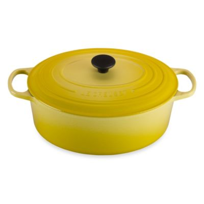 Le Creuset® Signature 9.5 qt. Oval French Oven in Soleil
