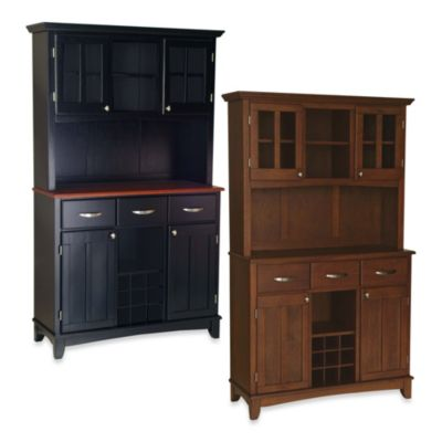 Home Styles Buffet Server with Wood Top