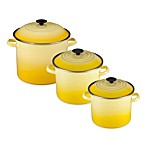 Le Creuset® Enamel on Steel Stockpots in Soleil