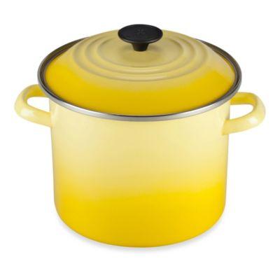 Le Creuset® 16 qt. Stock Pot in Soleil
