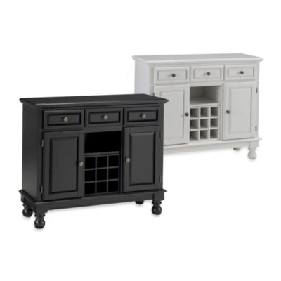 Home Styles Premium Buffet/Server with Wood Top