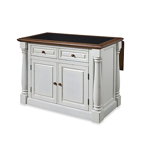 home styles monarch kitchen island with distressed oak top